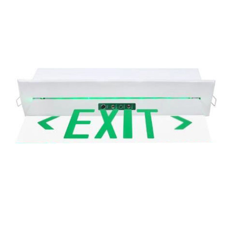 Clear Surface LED Exit Sign Light